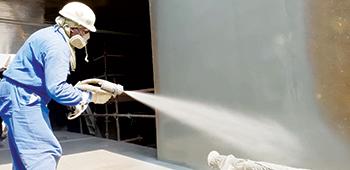 CMCI uses quality technology for polyurea coating.