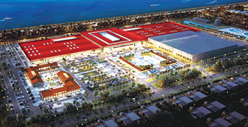 Dragon City ... mega retail centre at Diyar Al Muharraq.