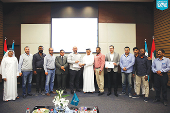 Winning firms were honoured during a ceremony.