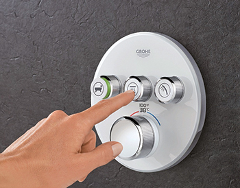 SmartControl Concealed  ... push-and-turn technology
