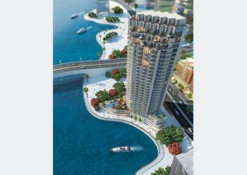 LIV Residence Dubai Marina ... topped out.