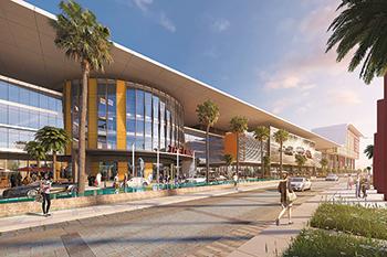 One Avenue Mall ... entertainment venue.