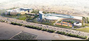 Shaikh Jaber Al Abdullah Al Jaber Al Sabah International Tennis Complex ... taking shape.