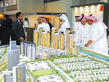 Visitors at a previous Cityscape Jeddah event.