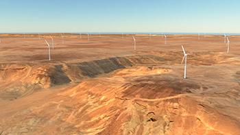 Dumat Al Jandal ... Saudi Arabia's's first utility-scale wind project.