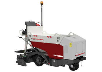 The F80W mini-paver ... compact paver solution for small jobsites.