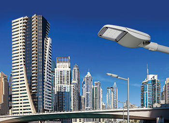 Skyline Street ... designed considering the challenging environmental conditions of the Middle East.