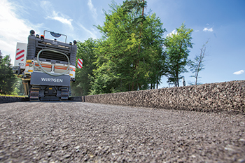 Modern cold milling machines improve the quality and cost-effectiveness of complete road rehabilitation.