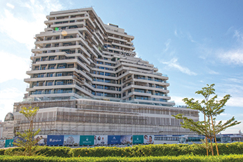 Azizi Aliyah boasts 346 residences and upscale retail space.