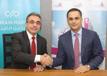 Haddad with Abdulrahman ... deal sealed.