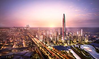 Burj Jumeira at Downtown Jumeira ... a new focal point and landmark for Dubai.