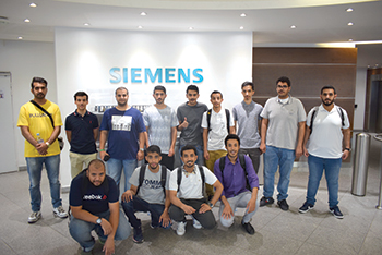 Saudi students visit one of BACS consortium partners as part of the JTTP.