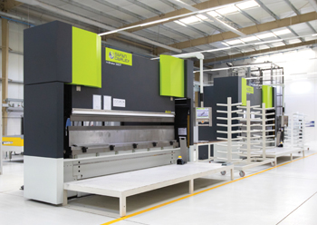 Hormann's new 4,800-sq-m production line in Jebel Ali.