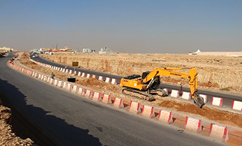 The programme covers development and upgrading of the road network.