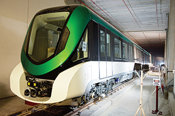 Alstom is supplying 69 Metropolis sets for Lines Four, Five and Six.