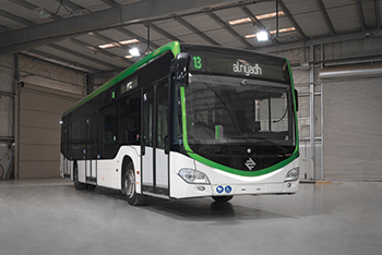A total of 842 buses will ply the various routes across the city.