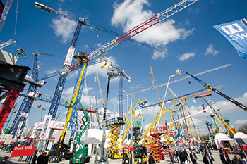 Bauma 2016 ... extra outdoor space has been added this year.