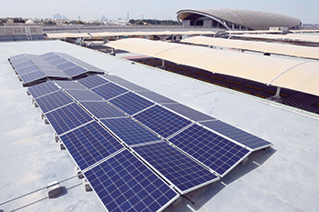 Solar rooftop solutions ... convenient and cost-effective power generation.