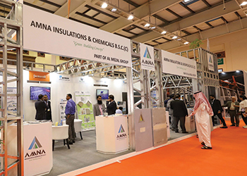 AIC's stand at last year's show ... good response.