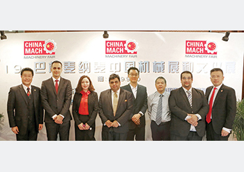 HCE officials with their Chinese partners.