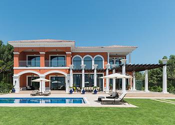 Villas at XXII Carat ... offer dramatic views of Dubai's skyline.