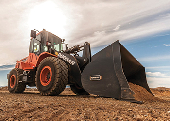 The DL280-5 ... suitable for handling construction and material handling tasks.