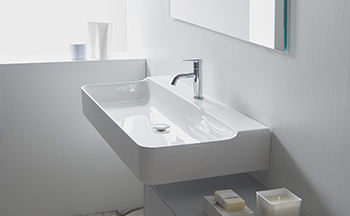Conca series ... a new level of purity in its design.