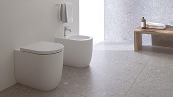 Blend ... an architectural toilet and bidet range that integrates Ideal Standard's industry-leading hygiene features.