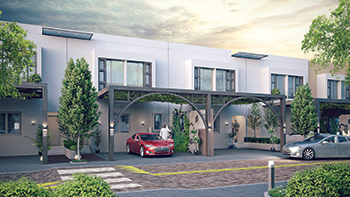 The development will feature 1,120 eco-friendly and energy-efficient villas.