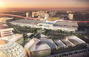The DEC will be a key facility at Expo 2020.
