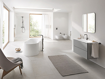 The new Grohe Essence collection.