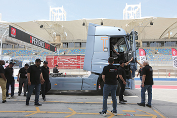 Renault Trucks Xperience Days 2019 in Bahrain ... fun-filled driving adventure experience.