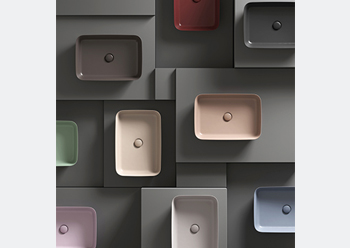 The new colour palette will be available in the Gulf on Ideal Standard's Ipalyss basins in Q3 2019.
