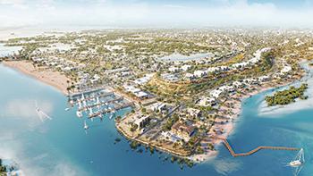 Jubail Island ... boasting a pristine 13-km waterfront.