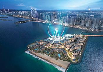 Ain Dubai on Bluewaters island ... world's tallest.