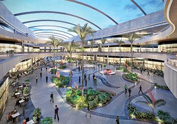 Deira Mall ... OpenAire will install a retractable skylight.