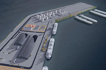 Al Bustan Construction Company is to carry out land levelling works in the logistics area  of Port of Duqm.