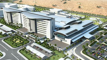 King Abdulla Medical City ... a 288-bed medical centre.