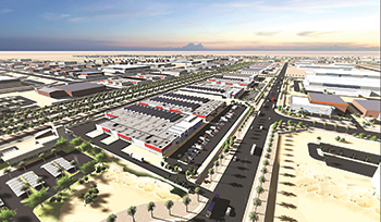 King Salman Energy Park (Spark) ... set to be a catalyst for growth in the Eastern Province, which accounted for a 40 per cent share of Q1 contract awards.