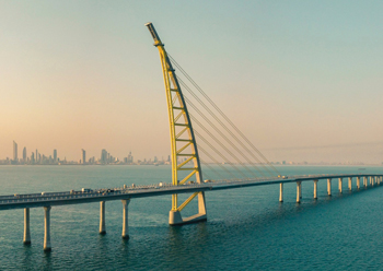 Sheikh Jaber Al Ahmad Al Sabah Causeway ... one of the world's longest bridges.