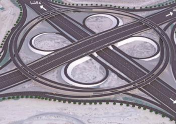 The Dubai-Al Ain Road Improvement ... a $544.4-million project.