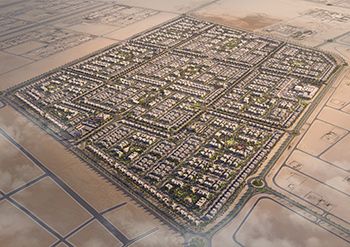 Alreeman II masterplan ... the project will feature 1,690 villa plots.