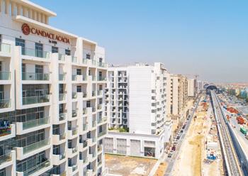 Azizi Developments' properties in Al Furjan... sold out.