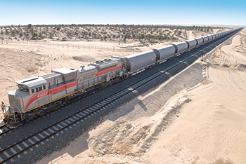 Etihad Rail ... connecting key hubs.