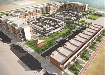 The Mirfa Beach Villa Housing Complex ... project on track.