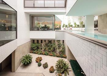 Three Gardens House ... innovative design solution.