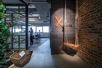 Xworks Interiors' offices ... first to achieve WELL Gold accreditation.