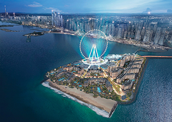 Ain Dubai ... world's tallest observation wheel on Bluewaters.