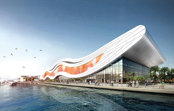 The National Aquarium ... a key anchor at Al Qana waterfront destination.