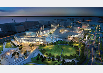 Aldar Properties will oversee Abu Dhabi government developments worth $1.36 billion.